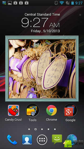 Animated Photo Frame Widget